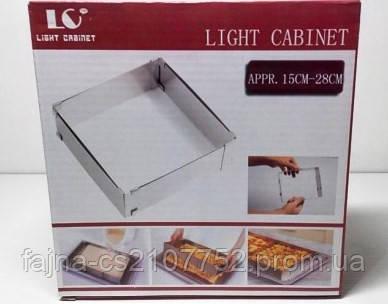 Форма для віпічки квадратна 1528LC