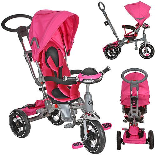 Велосипед трёхколёсный M 3203HA-4 фара розовый