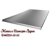 Лист 6х1000х2000 мм нержавеющий AISI 321(08Х18Н10Т) поверхность N1