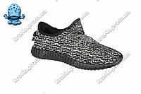 Мужские кроссовки черно-белые (Код: 119)