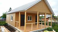 Дачный домик с верандой на 25 м2