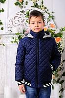 Куртка ПОДРОСТОК демисезонная, джинс, р.140-164