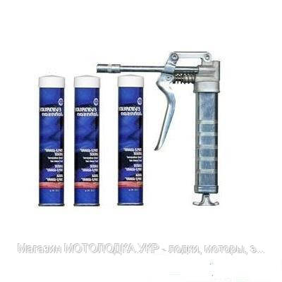 Смазка BRP TRIPLE GUARD GUN KIT Механ., с пистолетом 775615 85 г