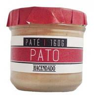 Паштет из утиной печени Hacendado Pate Pato БЕЗ ГЛЮТЕНА, 160 г