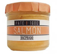 Паштет из лосося Hacendado Pate Salmon БЕЗ ГЛЮТЕНА, 160 г