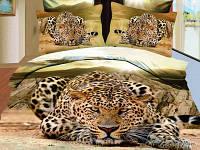Двуспальный комплект постельного белья Cheetah