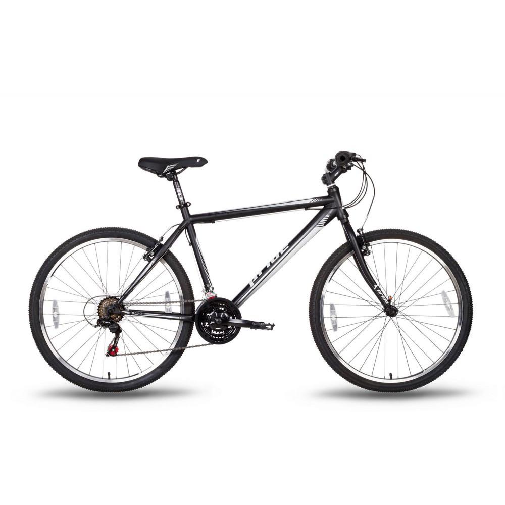 """Велосипед 26'' Pride XC-1.0 рама - 19"""" черно-белый матовый 2016"""