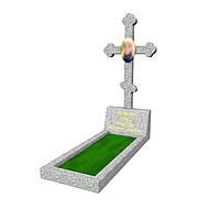 """Одинарный памятник """"Крест"""" М77"""