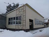 Изготовление и монтаж производственного помещения под токарный цех.