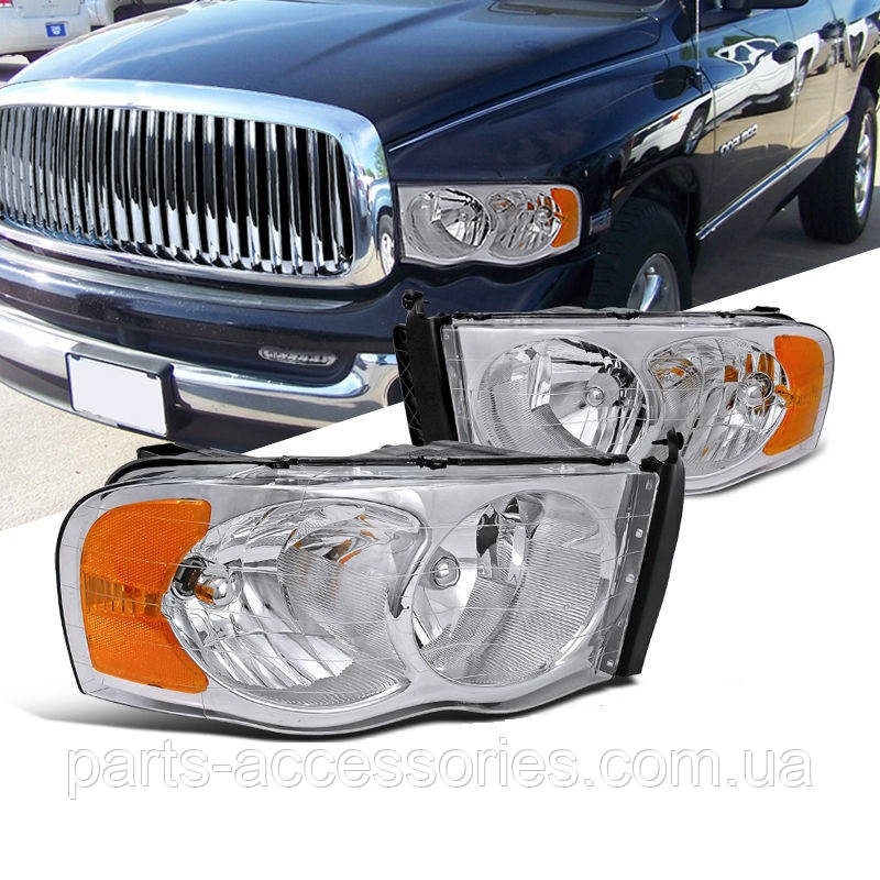 Dodge RAM 1500 2500 3500 2002-05 передние фары Новые