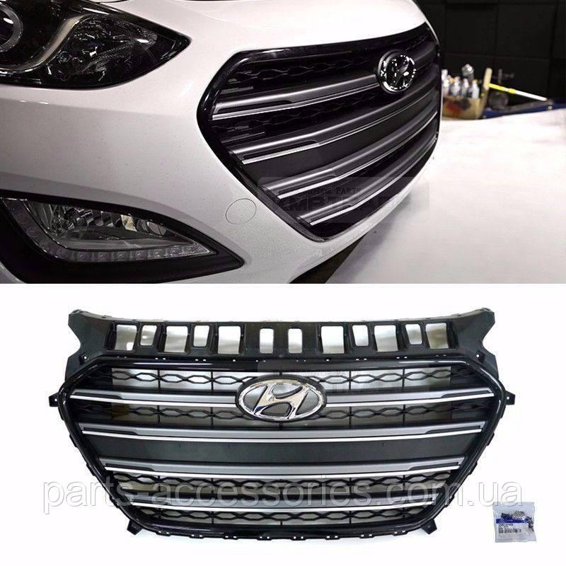 Hyundai Elantra GT хэтчбек 2012-16 решетка радиатора Новая Оригинал