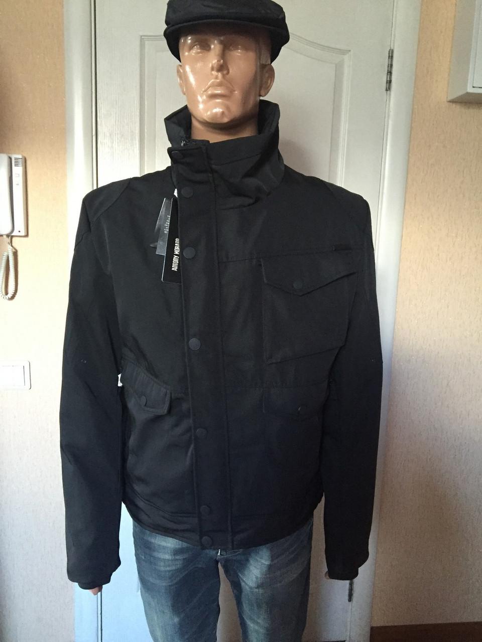 a8b733420c3 Куртка мужская черная Antony Morato - Интернет -магазин женской и мужской  одежды обуви и аксессуаров