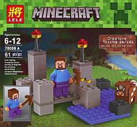 Конструктор Minecraft, Стив и корова