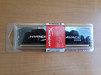 Оперативная память Kingston 4 GB DDR4 2666 MHz HyperX Savage Black (HX426C13SB2/4)