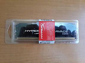 Оперативная память Kingston 4 GB DDR4 2666 MHz HyperX Savage Black (HX426C13SB2/4)