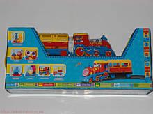 Паровозик для самих маленьких Little Train 8588A музичний