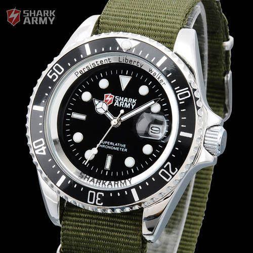 Часы SHARK Army AVENGER Black Японские механизм SAW014