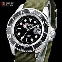 Часы SHARK Army AVENGER Black Японские механизм SAW014, фото 1