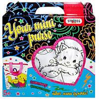 Набор для творчества «Сумка раскраска - кошка» 2044