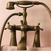 Смеситель с лейкой для ванны латунный 0171