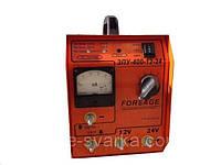 """Зарядно-пусковое устройство """"ЗПУ 400-12-24"""" (220/380) Forsage"""