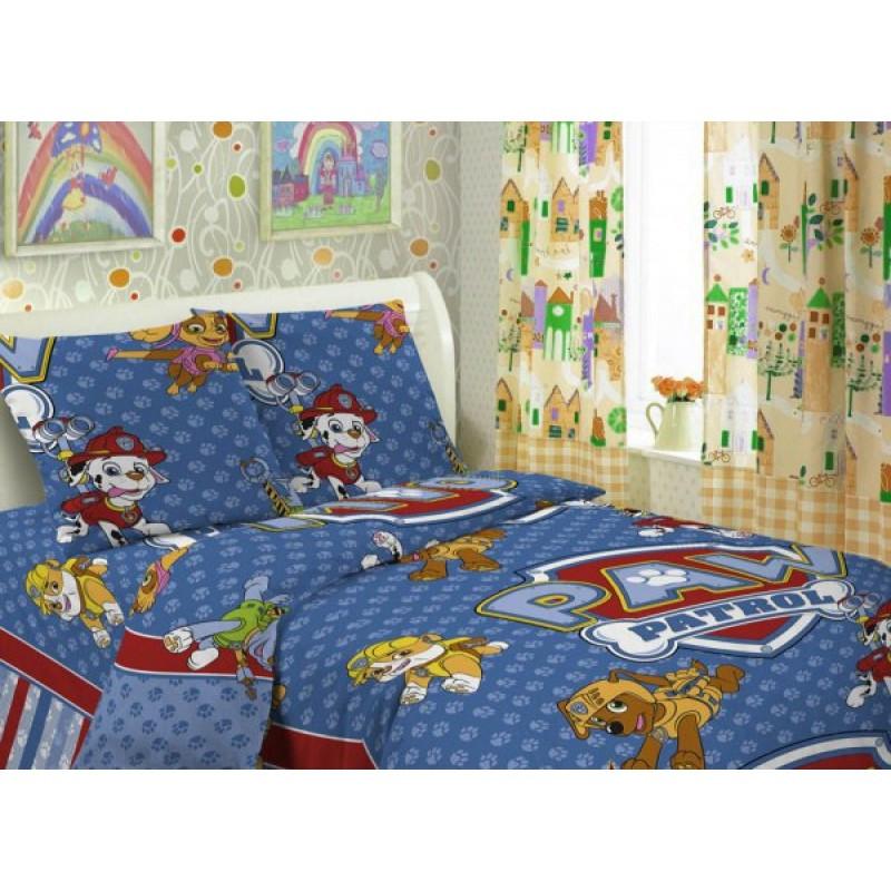 Постельное белье Щенячий патруль поплин ТМ Царский дом в кроватку