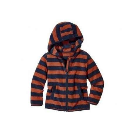 Толстовка для мальчика флисовая оранжевая р.110/116 Lupilu Германия