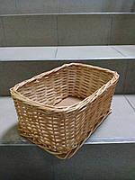 Плетеный лоток из лозы 30х20×15, фото 1