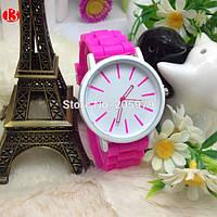 Наручные женские часы Geneva 5 Цветов