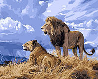 Картина по номерам Львиный прайд (VP126) 40 х 50 см