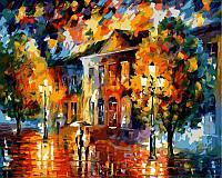 Раскраска по номерам Краски осени худ Афремов, Леонид (VP364) 40х50 см