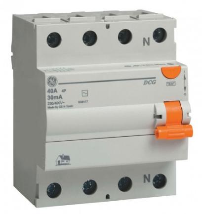 Устройство Защитного Отключения (УЗО) DCG425/300 4P, AC