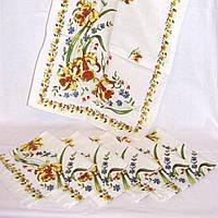 Кухонные полотенца ИРИС 100% лен