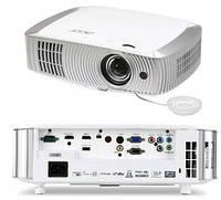 Проектор для домашнего кинотеатра, короткофокусный Acer H7550ST (DLP, Full HD, 3000 ANSI Lm) (MR.JKY11.00L)