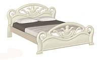 Элемент спального гарнитура Риана, от мебельной фабрики Скиф. Деревянная кровать Л-222