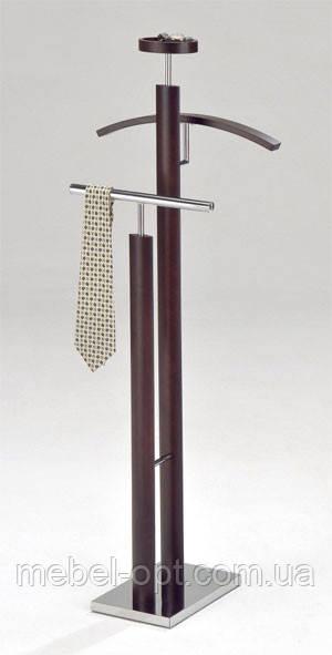 Тремпель деревянный Вешалка Стойка для одежды W-01