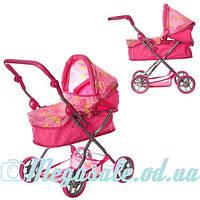 Детская коляска для кукол Классика 9680: 57х70х41см, корзина для игрушек