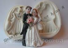 """3D СИЛИКОНОВЫЙ молд """"Жених невеста №2"""""""