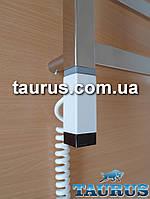 Белый ТЭН Terma ONE квадратный 30x30 с регулятором, таймером, под пульт ДУ. Польша