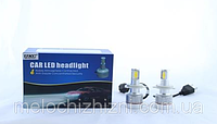 Светодиодные LED лампы UKC c цоколем H1 33W 4500-5000K 3000LM CAR LED headlight