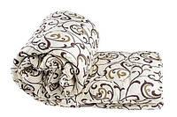 Теплое закрытое одеяло с овечьи шерсти + бязь вензель по низким ценам