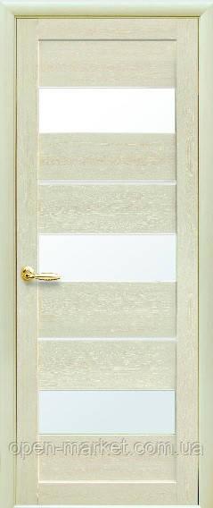 Модель Лилу экошпон стекло межкомнатные двери, Николаев