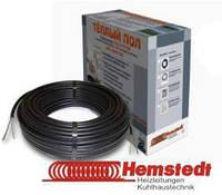 Тонкий двужильный нагревательный кабель Hemstedt DR 1350W