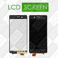 Дисплей для Sony Xperia X Dual F5122 с сенсорным экраном, черный, модуль ( дисплей + тачскрин )
