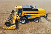 Аренда комбайна New Holland + зерновая жатка.