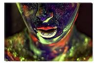 Светящиеся картины Startonight Женщина Абстракция Печать на Холсте Краски Декор стен Дизайн дома Интерьер