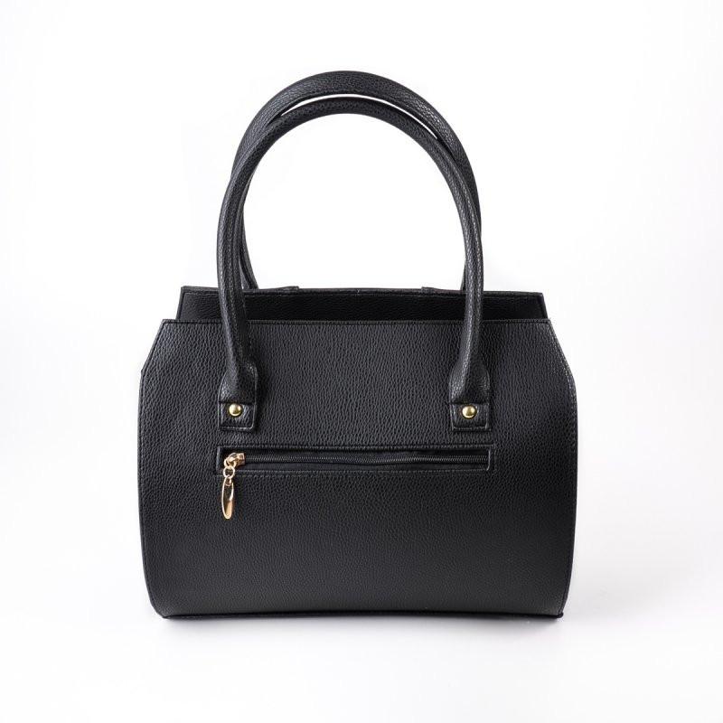 51649f9cbaa0 Сумка черная саквояж деловая классика с лаком, цена 425 грн., купить в  Днепре — Prom.ua (ID#492464534)