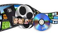 Запись видеокассеты на диск