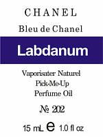 Парфюмерное масло (202) версия аромата Шанель Bleu de Chanel - 15 мл композит в роллоне
