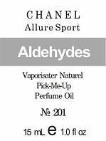 Парфюмерное масло (201) версия аромата Шанель Allure Sport - 15 мл композит в роллоне